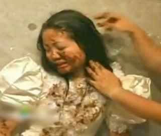 塗糞される花嫁