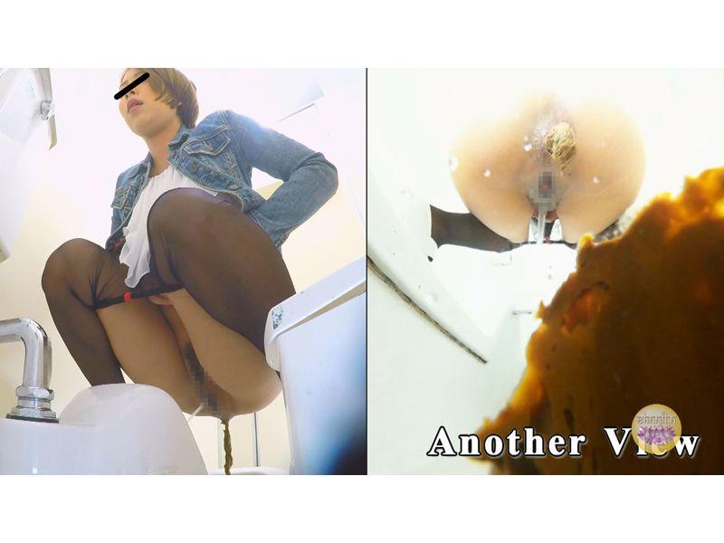 【排便盗撮】高画質カメラ4台でおなら大便が産み落とされる様子を隠し撮り その11