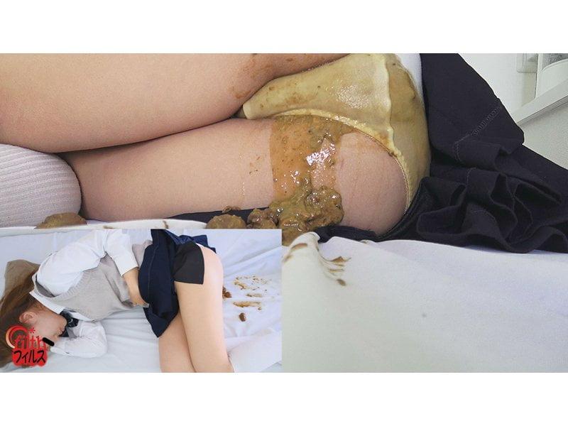 学校保健室で起こった女子校生の大便脱糞事件簿 その4