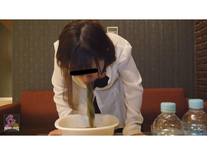 過食嘔吐から二日酔いゲロまで、全国の素人娘から届いた自画撮りゲロレター その7