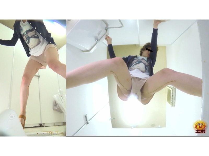 【排便盗撮】雑居ビル内トイレ盗撮!惨めな下痢便お漏らしの瞬間 その11