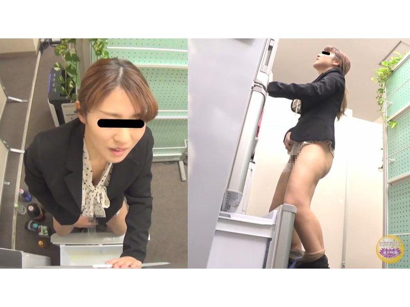 【排便盗撮】トイレに辿り着くまで我慢出来ないっ!膀胱パンパンOLたちの緊急避難小便 その4