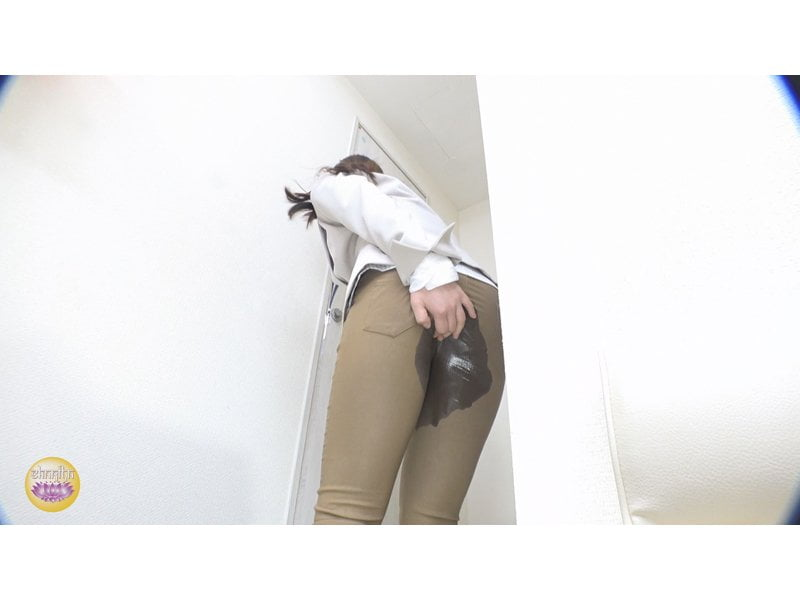 【排便盗撮】アナル崩壊!下痢便おなら小便全漏れの瞬間 その9
