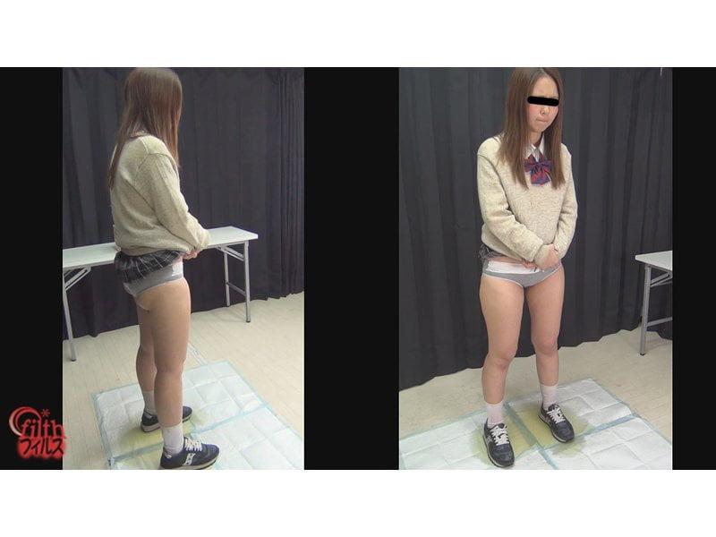 【小便】女子校生限定オシッコ我慢大会開催 その10