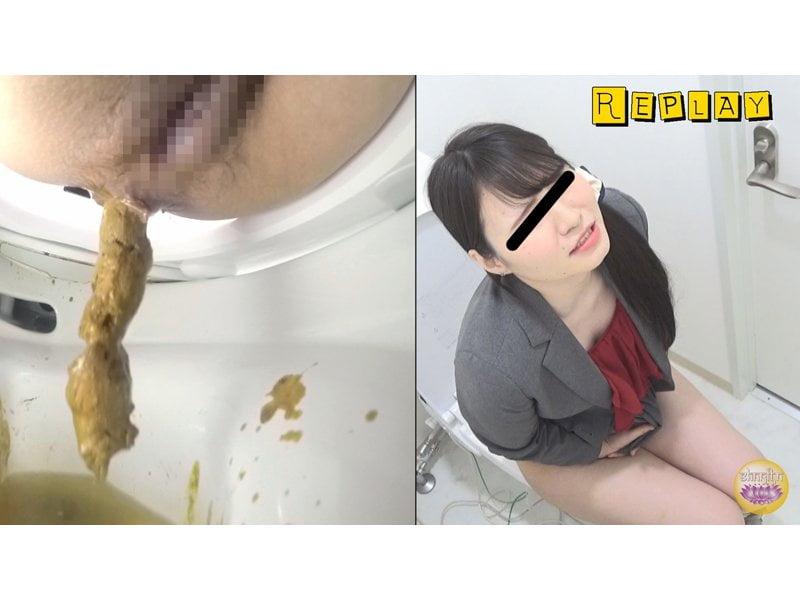 【排便盗撮】給湯室横トイレの気まずい排泄風景 その11