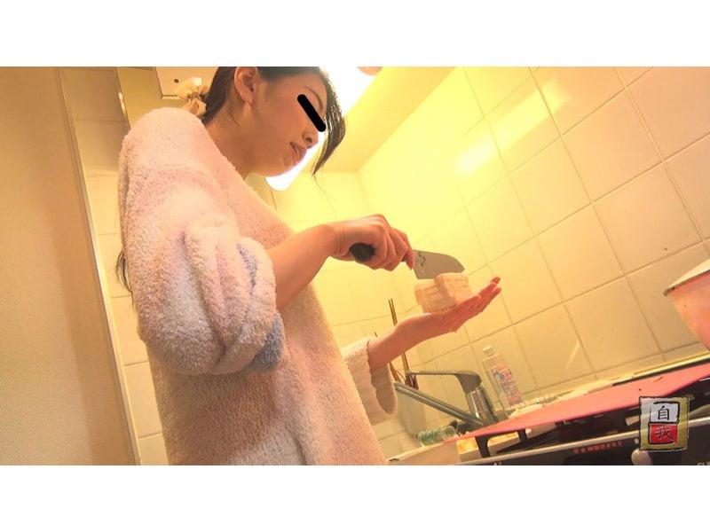 【大便】素人自画撮り 私のゴハンとウンチ☆素人娘の食生活と排便観察 その5