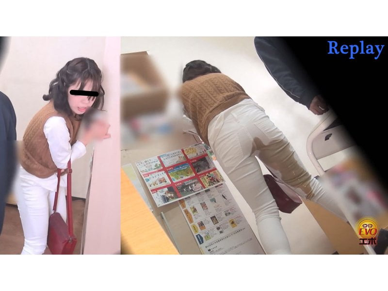 図書館内でいきなり軟禁強制浣腸!静かな館内で痴音を響かせ失便する女 その8