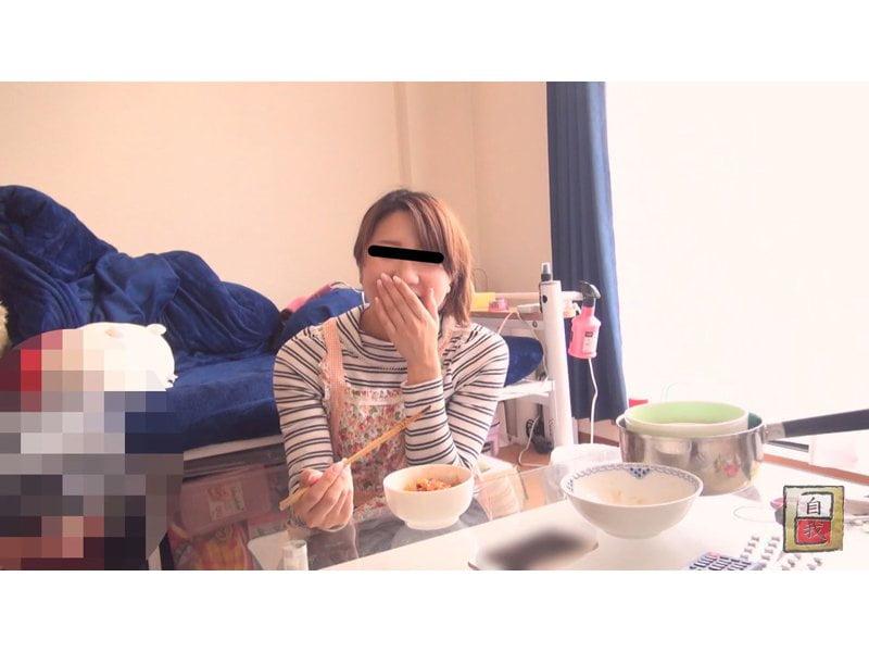 【大便】素人自画撮り 私のゴハンとウンチ☆素人娘の食生活と排便観察 その10