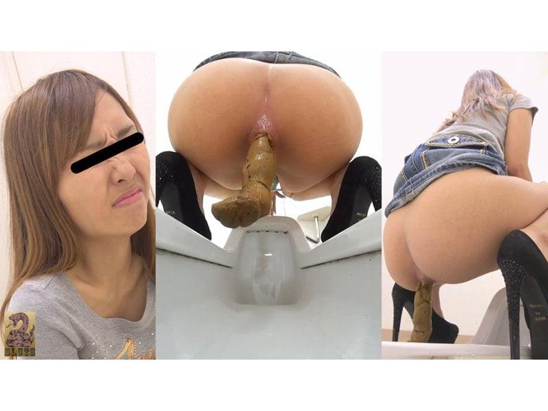 【排便盗撮】和式便所大便盗撮 トイレに仕掛けた5台のカメラで女の子のウンチをバッチリ撮影 その3