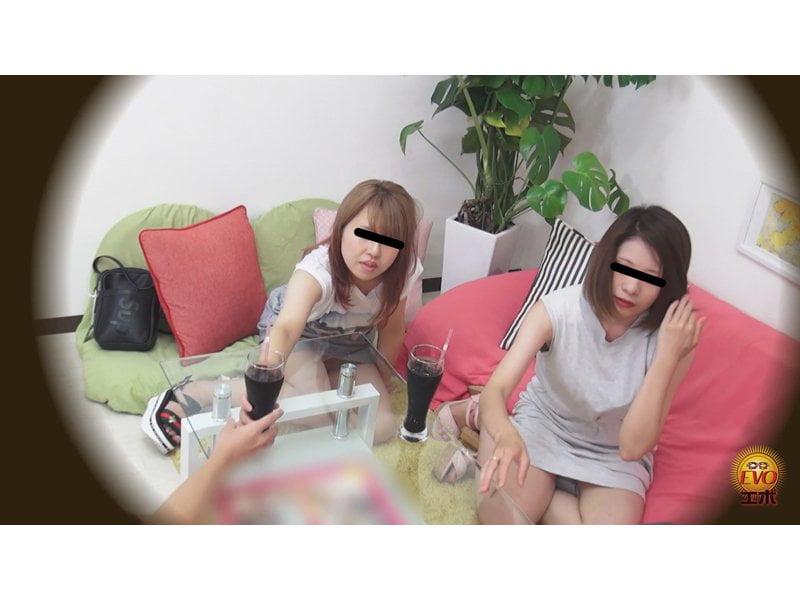 【排便盗撮】シャレオツcafeのトイレにカメラを設置!意識高い系女子たちの大便風景を隠し撮り その9