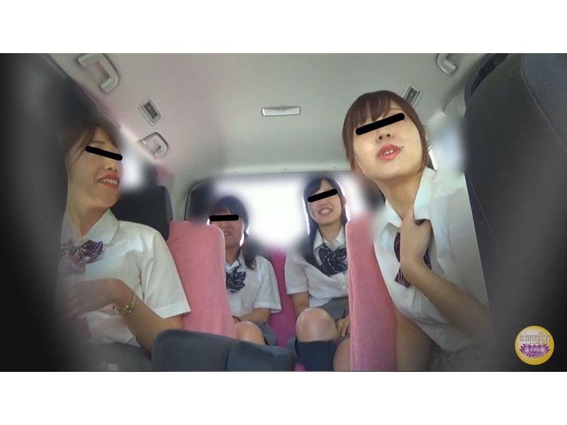 【排便盗撮】女子校生がそこら中でおしっこジョボジョボ!利尿剤混入イタズラ観察 その4