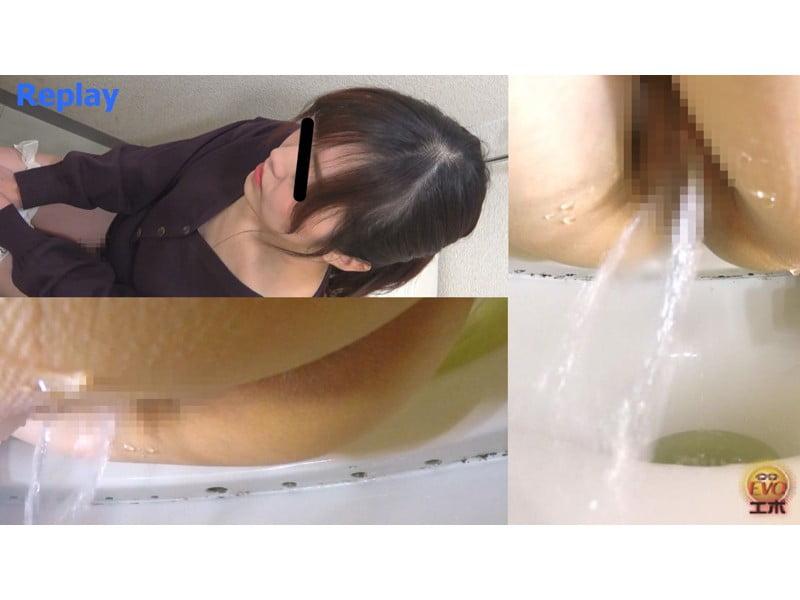【排便盗撮】小便音丸聞こえ便所盗撮 その6