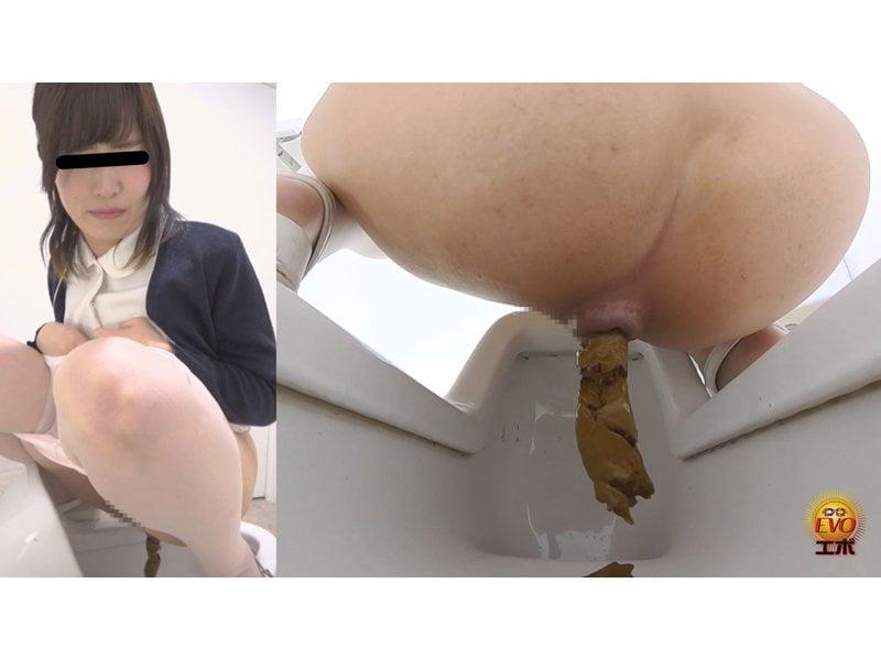 【排便盗撮】病院内和式便所盗撮 看護師たちの快便・怪便まとめ その6