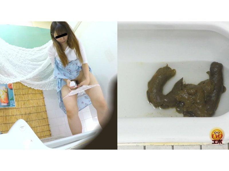 【排便盗撮】シャレオツcafeのトイレにカメラを設置!意識高い系女子たちの大便風景を隠し撮り その6