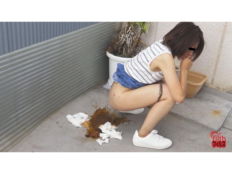 【大便】ウン汁ブシャーー!!路地裏爆発ゲリ便! その15