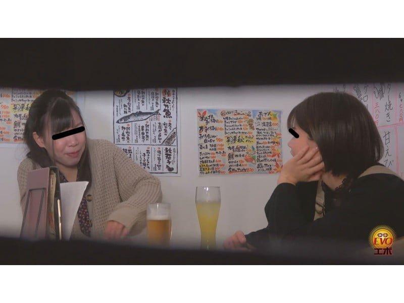 【排便盗撮】アルコールのせいで膀胱がパンパン!ヘベレケ女子会で大量小便まとめ その24