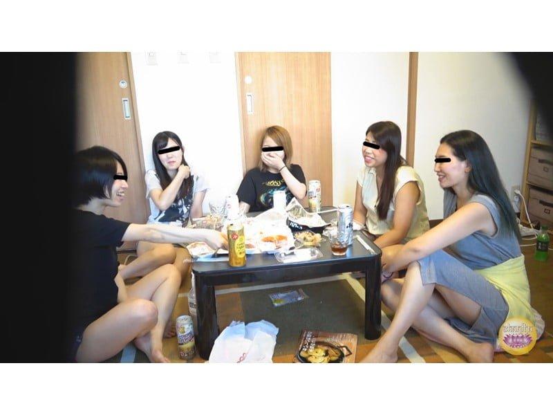 【排便盗撮】脱糞女子会 酒に酔った女の子たちの大便パーティー その15