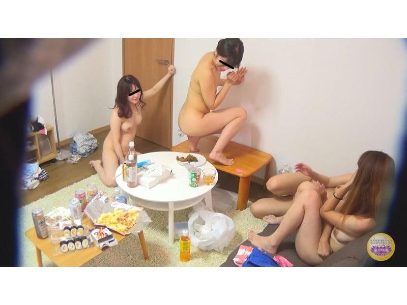 【排便盗撮】脱糞女子会 酒に酔った女の子たちの大便パーティー その7