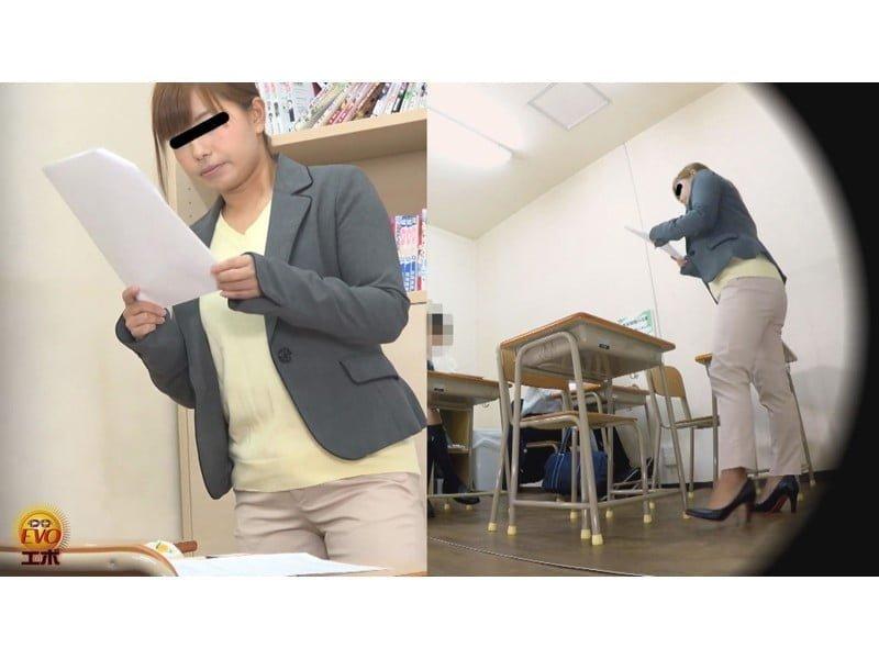 【排便盗撮】やっちまった小便お漏らし…!女教師失禁の瞬間 その10