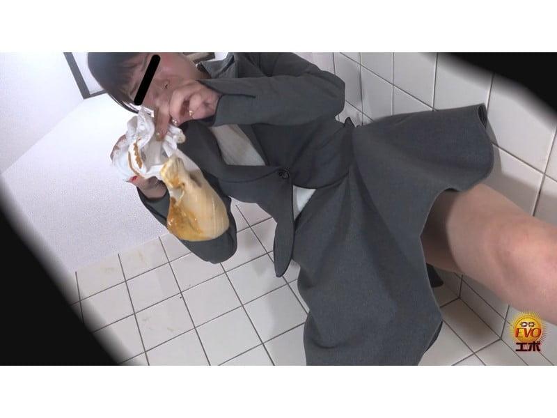 【排便盗撮】パンツを侵食するウン汁!じわじわ染み出す下痢便観察【大便】 その23