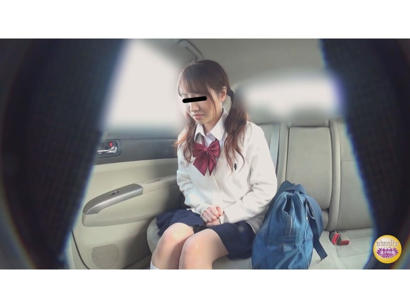 【排便盗撮】膀胱は限界、でもトイレがない!女子校生 高速道路車内小便の一部始終 その16