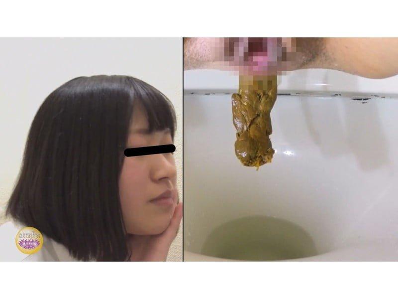 【排便盗撮】排泄音が外に全漏れでとっても恥ずかしい…給湯室横の気まずいトイレ盗撮【大便】 その7