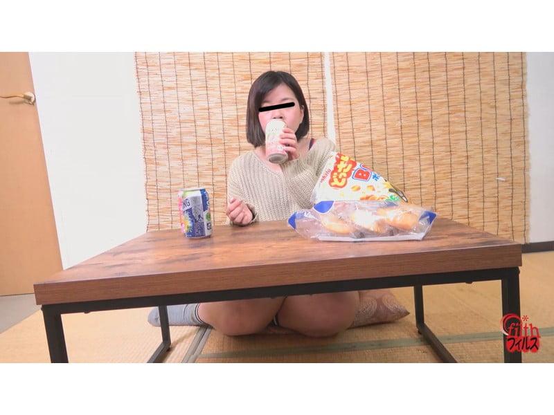 【小便】ヘベレケ女子のガチ尿観察 その9