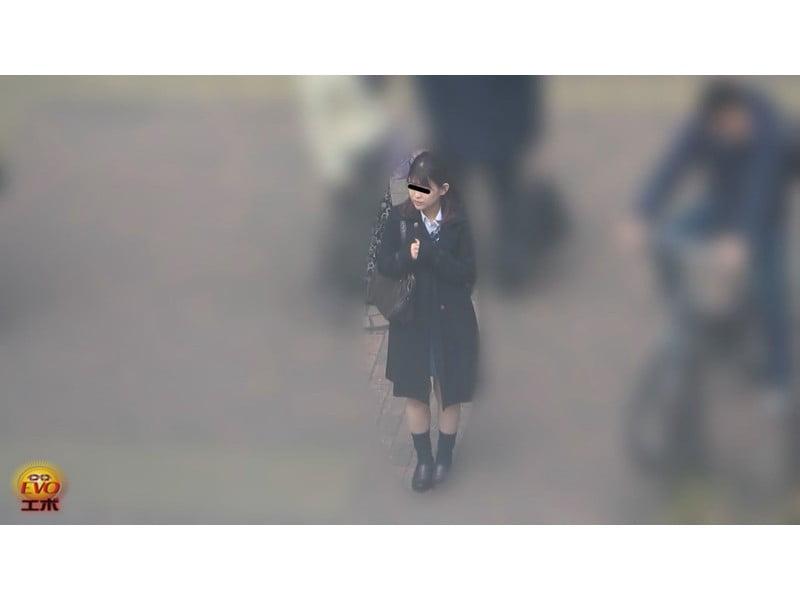 【排便盗撮】無念の失禁!女子校生トイレ目前小便お漏らし その6