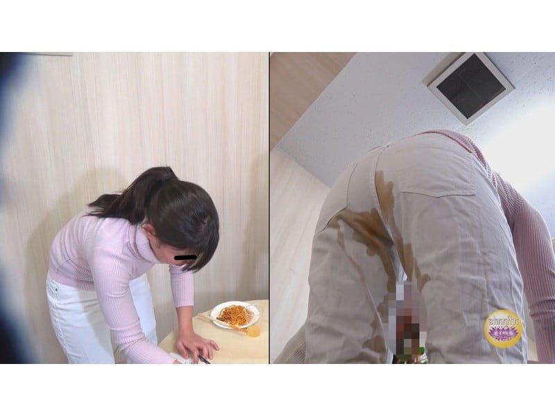 【排便盗撮】試食会で下剤混入O・P・P!被験者たちの悶絶失便をモニタリング その23