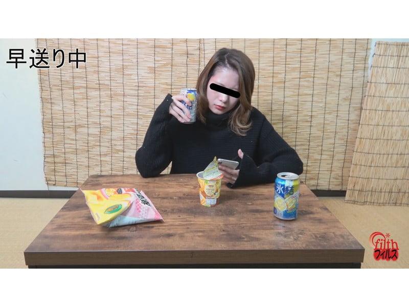 【小便】ヘベレケ女子のガチ尿観察 その33