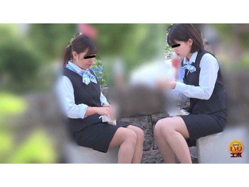 【排便盗撮】社内女子便所盗撮 オフィスレディたちのユルうんち その21