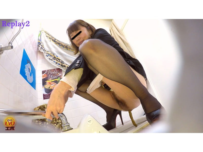 【排便盗撮】EVO厳選 極太便盗撮ベスト~盛り盛り大便59~ その23