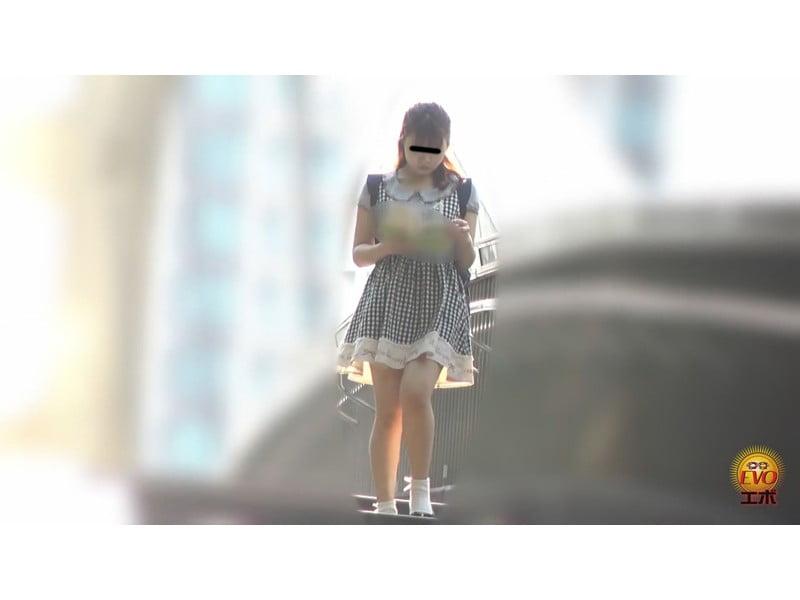 【排便盗撮】大学女子寮トイレ盗撮 女子大生の全裸大便 その23